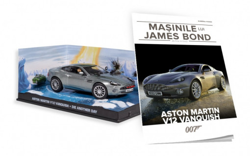 Editia Nr. 13 - Aston Martin v12 Vanquish (Die Another Day)
