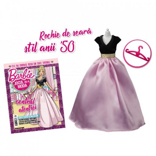 Editia nr. 24 - Rochie de seara stil anii ''50 (Barbie, jocul de-a moda)