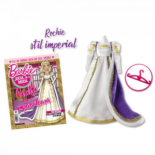 Editia nr. 28 - Rochie stil imperial (Barbie, jocul de-a moda)
