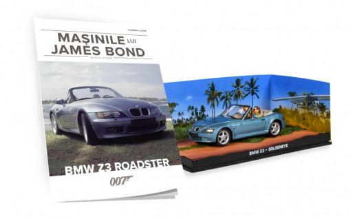 James Bond - Editia Nr. 03 - BMW Z3 ROADSTER (Goldeneye)