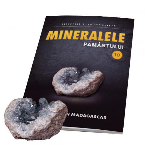 Editia nr. 10 - Celestina din Madagascar (Mineralele Pamantului)