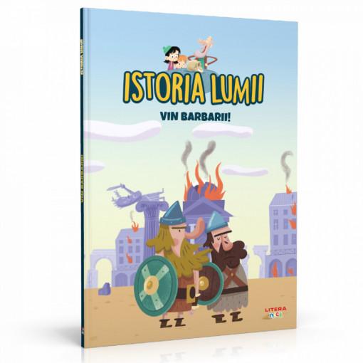 Editia nr. 12 - Vin barbarii! (Istoria pentru copii)