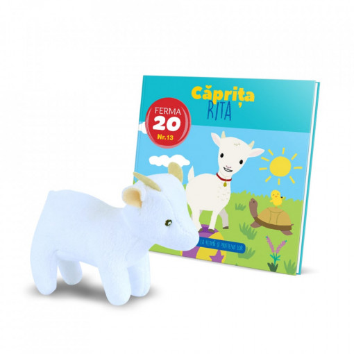 Editia nr. 13 - Caprita Rita (Animalutele de la ferma)