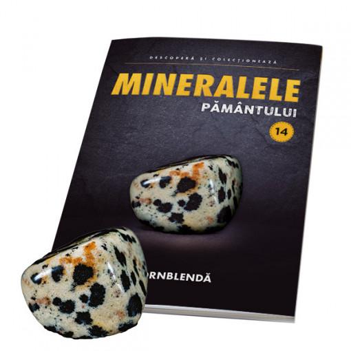 Editia nr. 14 - Hornblenda (Mineralele Pamantului)