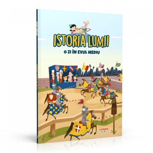 Editia nr. 16 - O zi in Evul Mediu (Istoria pentru copii)