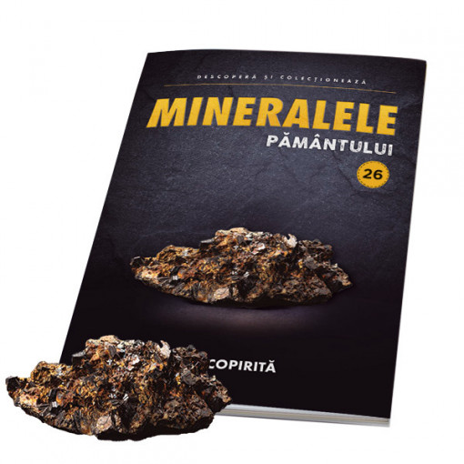 Editia nr. 26 - Calcopirita (Mineralele Pamantului)