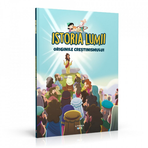 Editia nr. 10 - Originile creștinismului (Istoria pentru copii)