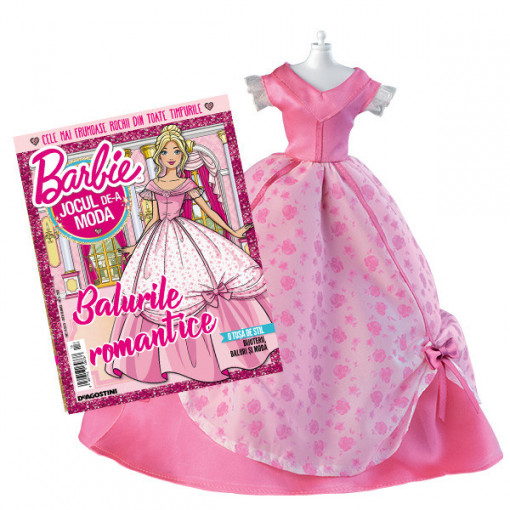Editia nr. 13 - Rochie romantic (Barbie, jocul de-a moda)