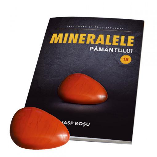Editia nr. 15 - Jasp rosu (Mineralele Pamantului)