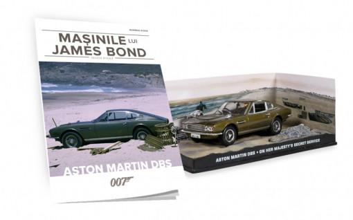 James Bond - Editia nr. 06 - Aston Martin DBS (On Her Majesty's Secret Service)