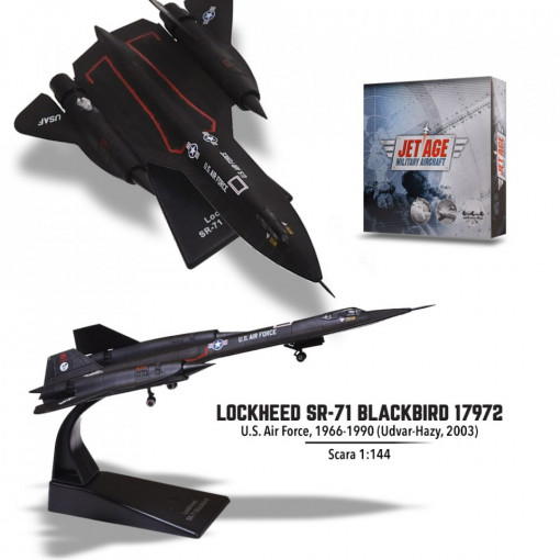 "Editia nr. 3 - Lockheed SR-71 ""Blackbird"" (Avioane Militare Jet Age)"