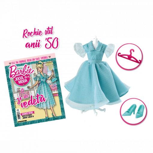Editia nr. 30 - Rochie stil anii '50 (Barbie, jocul de-a moda)