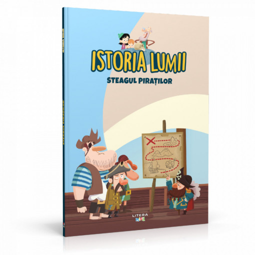 Editia nr. 31 - Steagul piraților (Istoria pentru copii)