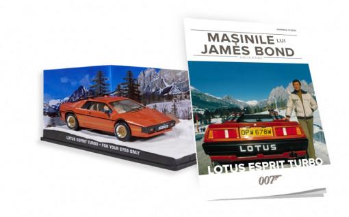 James Bond - Editia Nr. 17 - Lotus Esprit Turbo (For Your Eyes Only)
