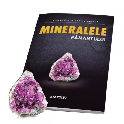 Editia nr. 04 - Ametist (ametist + revista) (Mineralele Pamantului)
