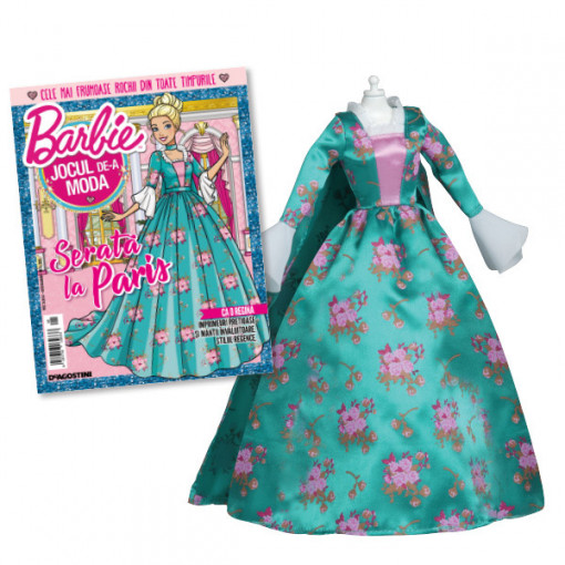 Editia nr. 05 - Rochie de printesa (Barbie, jocul de-a moda)