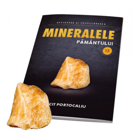 Editia nr. 13 - Calcit Portocaliu (Mineralele Pamantului)