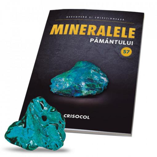Editia nr. 57 - Crisocol (Mineralele Pamantului)