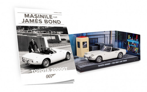 James Bond - Editia Nr. 08 - Toyota 2000GT (You Only Live Twice)