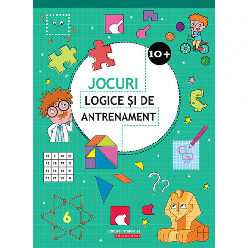 Jocuri logice și de antrenament (10 ani +)