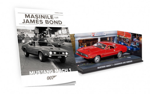 Editia Nr. 09 - Mustang Mach 1 (Diamonds Are Forever)