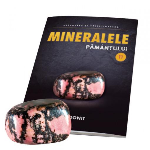 Editia nr. 11 - Rodonit (Mineralele Pamantului)