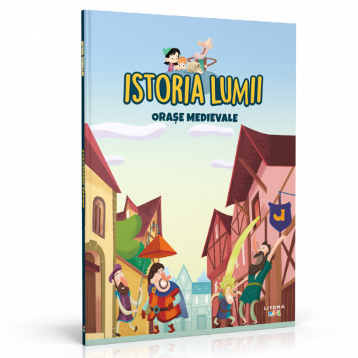 Editia nr. 19 - Orașe medievale (Istoria pentru copii)