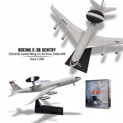 Editia nr. 5 - Boeing E-3B Sentry (Avioane Militare Jet Age)