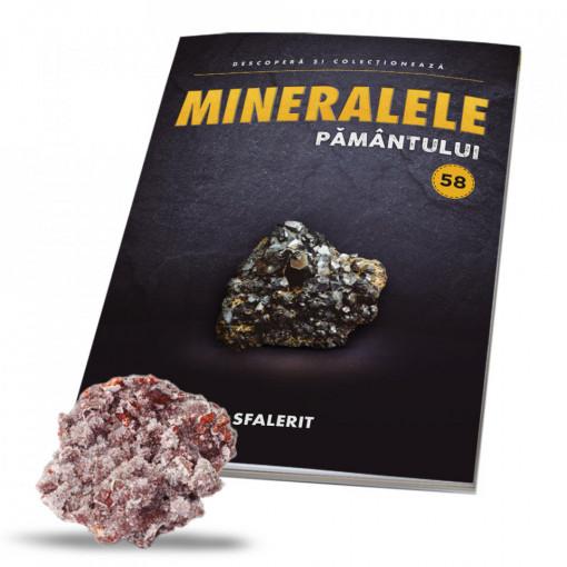 Editia nr. 58 - Sfalerit (Mineralele Pamantului)