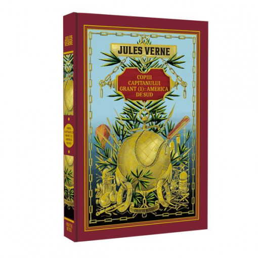Jules Verne - Copiii căpitanului Grant. America de Sud - Ediția nr. 03