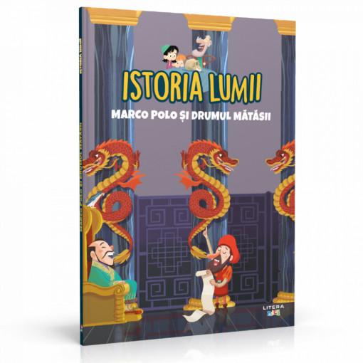 Editia nr. 20 - Marco Polo și Drumul Mătăsii (Istoria pentru copii)