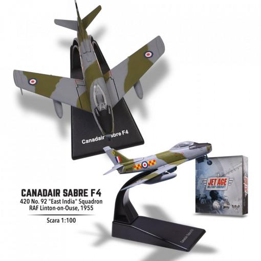Editia nr. 6 -Canadair Sabre F4 (Avioane Militare Jet Age)