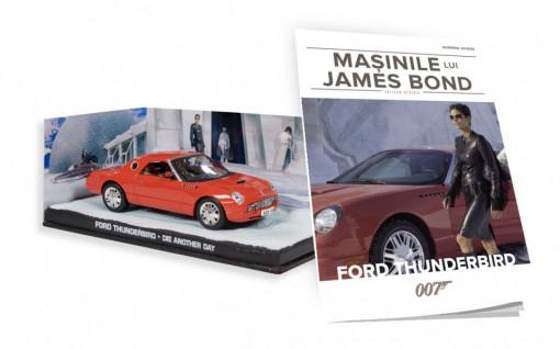 James Bond - Editia Nr. 20 - Ford Thunderbird (Die Another Day)