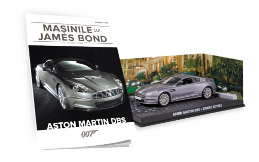 Editia nr. 01 - Aston Martin DBS (CASINO ROYALE)