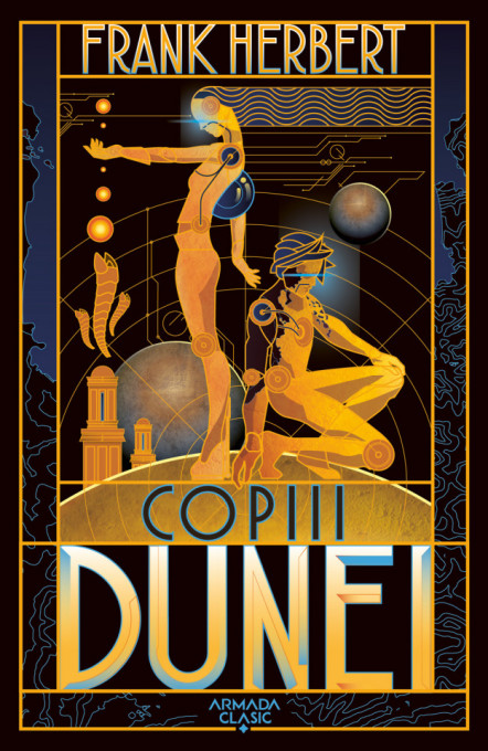 Copiii Dunei (Seria Dune partea a III-a ed. 2019)