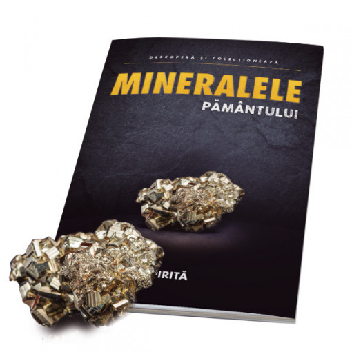 Editia nr. 05 - Pirita (pirita + revista) (Mineralele Pamantului)