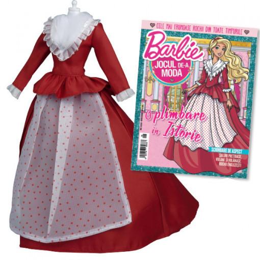 Editia nr. 08 - Rochie stil Neoclasic (Barbie, jocul de-a moda)