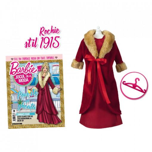 Editia nr. 26 - Rochie anii 1915 (Barbie, jocul de-a moda)