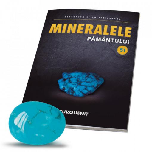 Editia nr. 51 - Turquenit (Mineralele Pamantului)