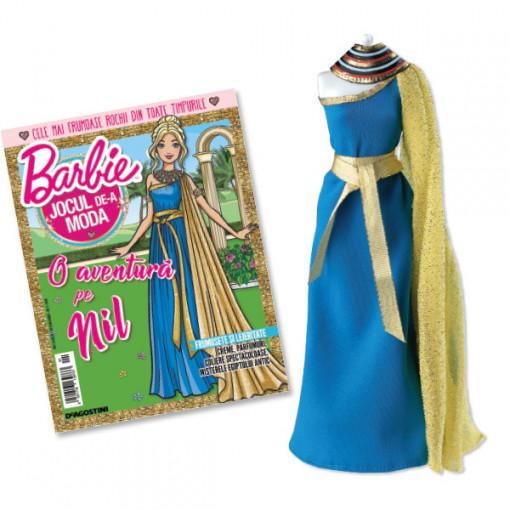 Editia nr. 01 - Rochie stil Egiptul Antic (Barbie, jocul de-a moda)