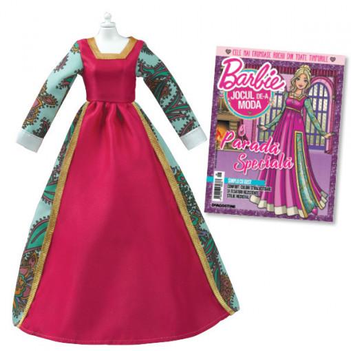 Editia nr. 09 - Rochie stil Evul Mediu (Barbie, jocul de-a moda)