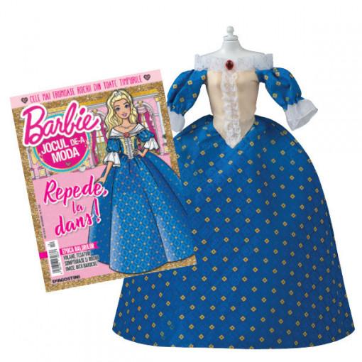Editia nr. 12 - Rochie stil baroc (Barbie, jocul de-a moda)