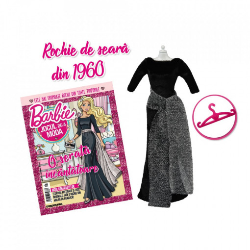 Editia nr. 21 - Rochie de seara 1960 (Barbie, jocul de-a moda)