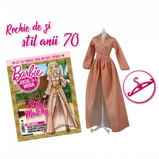Editia nr. 27 - Rochie stil anii '70 (Barbie, jocul de-a moda)