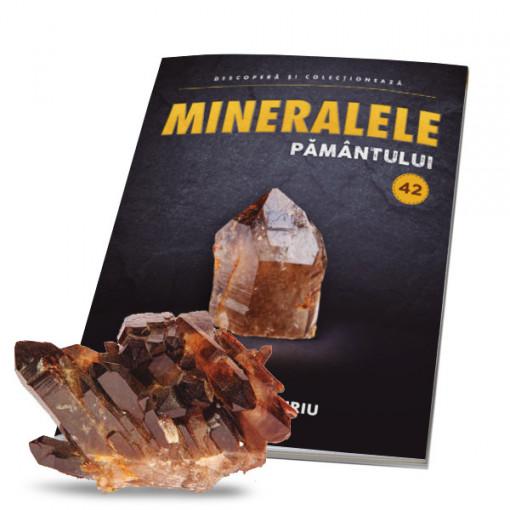 Editia nr. 42 - Cuart fumuriu (Mineralele Pamantului)