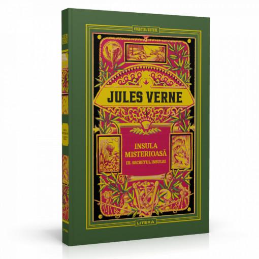 Jules Verne - Insula misterioasă. Secretul insulei - Ediția nr. 12