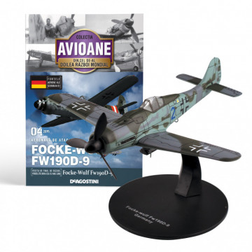 Editia nr. 04 - Avion Fortele Aeriene ale Germaniei Focke Wulf FW190D-9