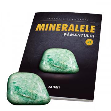 Editia nr. 21 - Jadeit (Mineralele Pamantului)