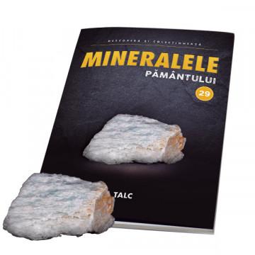 Editia nr. 29 - Talc (Mineralele Pamantului)