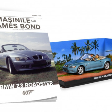 James Bond - Editia Nr. 03 - BMW Z3 ROADSTER (Goldeneye)